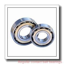 31.75 mm x 79,375 mm x 22,225 mm  RHP QJM1.1/4 angular contact ball bearings