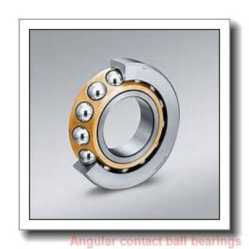 17 mm x 40 mm x 12 mm  KOYO 7203 angular contact ball bearings