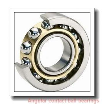80 mm x 125 mm x 22 mm  FAG HCB7016-E-T-P4S angular contact ball bearings