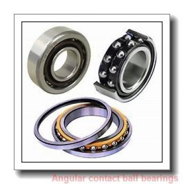 40 mm x 80 mm x 36 mm  PFI PW40800036/34CS angular contact ball bearings