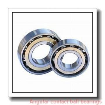 15 mm x 42 mm x 13 mm  FBJ 7302B angular contact ball bearings