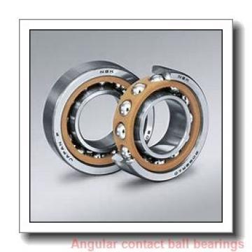 80 mm x 125 mm x 22 mm  NACHI BNH 016 angular contact ball bearings