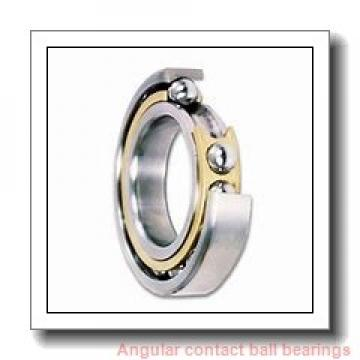 28,575 mm x 63,5 mm x 15,875 mm  RHP LJT1.1/8 angular contact ball bearings