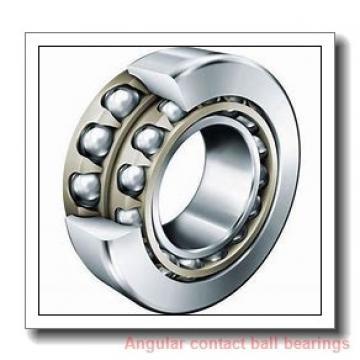 55 mm x 100 mm x 21 mm  FBJ QJ211 angular contact ball bearings