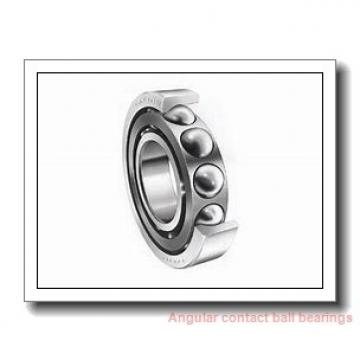 34,925 mm x 88,9 mm x 22,23 mm  SIGMA MJT 1.3/8 angular contact ball bearings