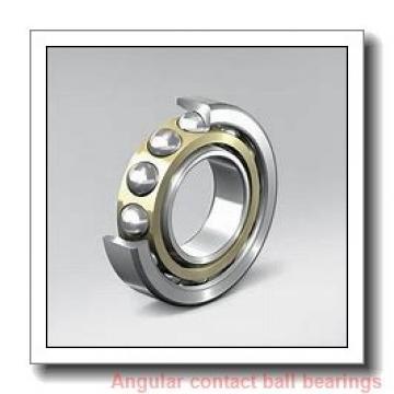 40 mm x 75 mm x 37 mm  Fersa F16055 angular contact ball bearings