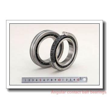 35 mm x 80 mm x 21 mm  NKE 7307-BE-TVP angular contact ball bearings