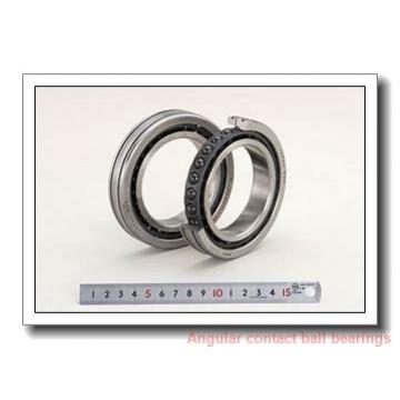 40 mm x 80 mm x 36 mm  Fersa F16090 angular contact ball bearings