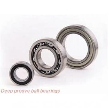 25 mm x 62,02 mm x 17,5 mm  Fersa F18018 deep groove ball bearings