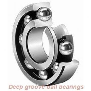 30 mm x 90 mm x 23 mm  Fersa 6406-2RS deep groove ball bearings