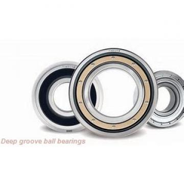 100 mm x 150 mm x 24 mm  SIGMA 6020 deep groove ball bearings